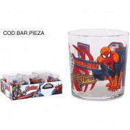 vaso bodega 340cc spiderman