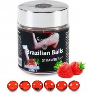 secret play tarro 6 brazilian balls aroma fresa
