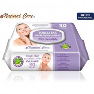 toallita desmaquillante 30ud c tapa natural care