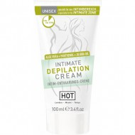 hot intimate crema depilatoria 100ml