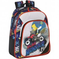 mochila infantil simpsons big air monster