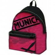 mochila munich strong color rojo