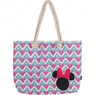 bolso playa minnie rosa