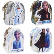 llavero monedero frozen 2 blanco