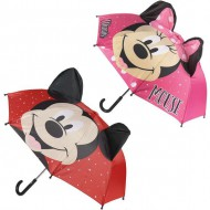 paraguas manual pop up mickey rojo