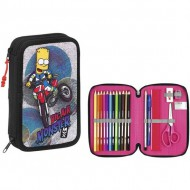plumier doble simpsons big air monster 34 piezas