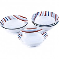 set de 6 bols de porcelana starline rb