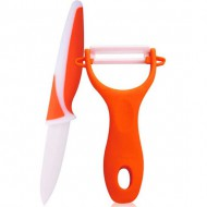 set pelador cuchillo 75cm acero inoxidable
