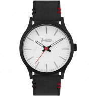 reloj atitude black and white pulsera negra
