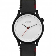 reloj scope black and white pulsera negra