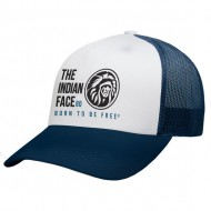 gorra the indian face free soul blanco y azul