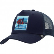 gorra the indian face born to wakeboard azul