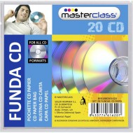 set 20 fundas cd papel