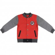 sudadera cotton brushed mickey rojo talla 4 años