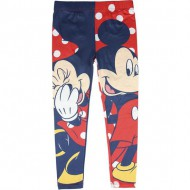 leggins single jersey minnie rojo talla 3 años