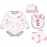 pack regalo single jersey minnie rosa 1 3 meses