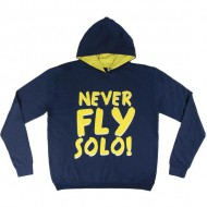 sudadera con capucha cotton brushed star wars tm
