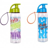 botella sport decorada 500 ml colores surtidos