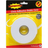 cinta adhesiva doble cara 18mm x 5m