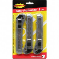 cutter profesional 3 uds