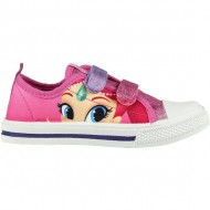 zapatilla loneta baja shimmer and shine rosa talla 24