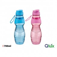 botella sport lux 700ml qlux colores surtidos