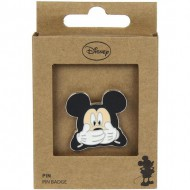 pin metal mickey negro