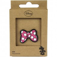 pin metal minnie rosa