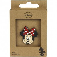pin metal minnie rojo
