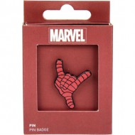 pin metal spiderman rojo