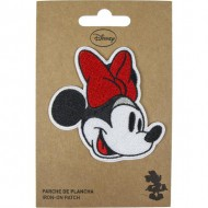 parche minnie rojo