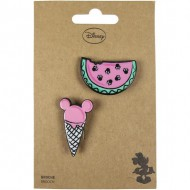 broche minnie rosa