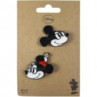 broche minnie negro