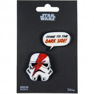 broche star wars rojo