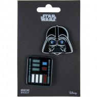 broche star wars darth vader negro