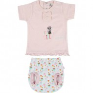 ranita single jersey minnie rosa talla 1 mes
